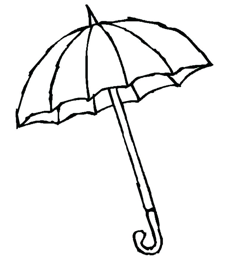 771x893 Umbrella Coloring Sheet Click To See Printable Version Of Pin Up
