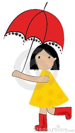 256x450 Cute Umbrella Drawing Clipart Panda