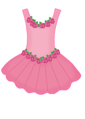 286x400 Girl In Party Dress Clipart, Free Girl In Party Dress Clipart