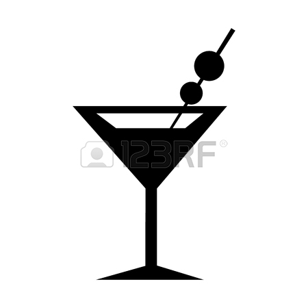 Girl In Martini Glass