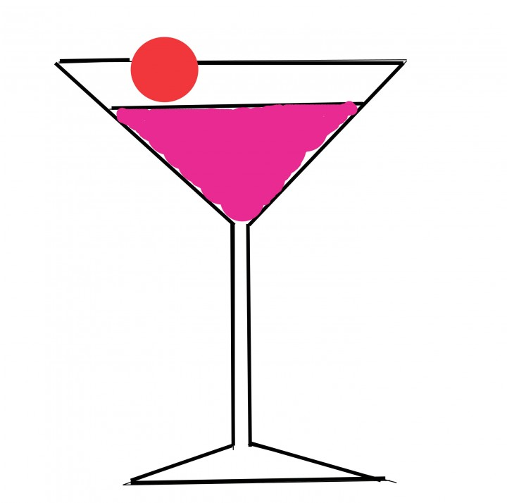 720x714 It' Girl Martini Cocktail