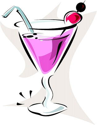 313x400 Martini Glass Cocktail Glass Clip Art 2 Image