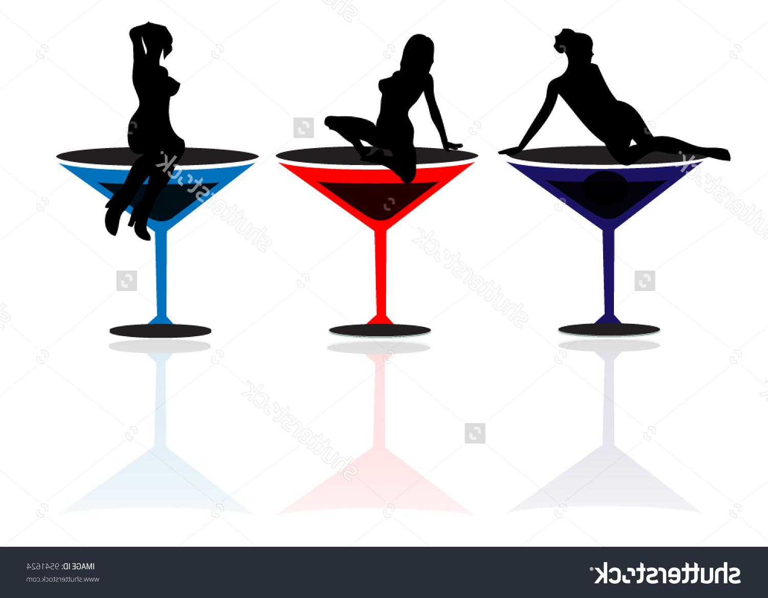 1500x1167 Top 10 Stock Vector Girls And Martini Glasses Image