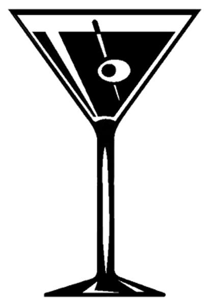 414x600 Vodka Clipart Martini Glass