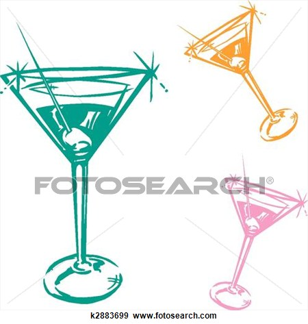 450x473 Cocktail Glass Illustration View Large Clip Art Graphic Ink