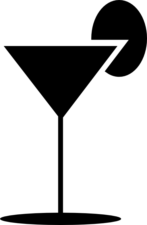 512x783 Cocktail Glass Clipart
