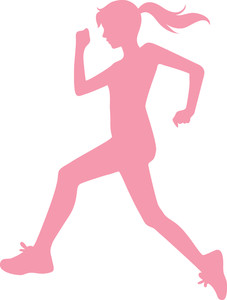 227x300 Jogging Clipart Image