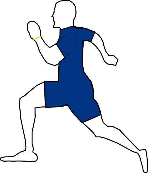 510x597 Man Jogging Exercise Clip Art Free Vector In Open Office Drawing