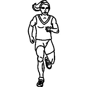 300x300 Run In Place Clipart