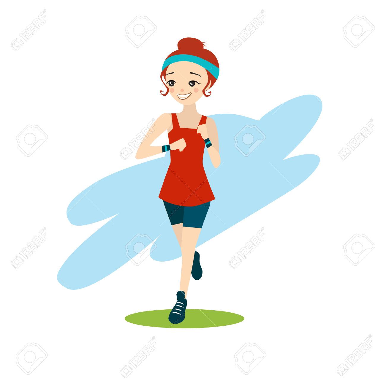 1300x1300 Running Training Clipart
