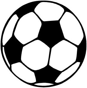 293x295 Clipart of soccer
