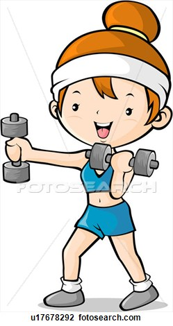 249x470 Exercise Weights Clipart