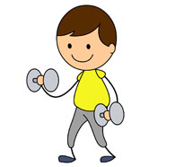 195x186 Weight Lifting Clip Art Many Interesting Cliparts