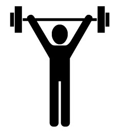 232x261 Weight Training Clipart, Free Weight Training Clipart