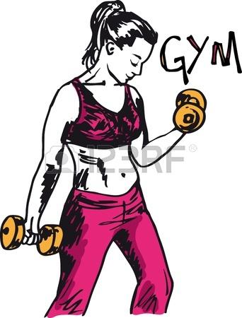 342x450 Woman Female Weight Lifting Training Lift Bar Strength Workout