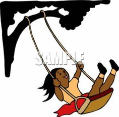236x233 Swing On A Tree Clipart