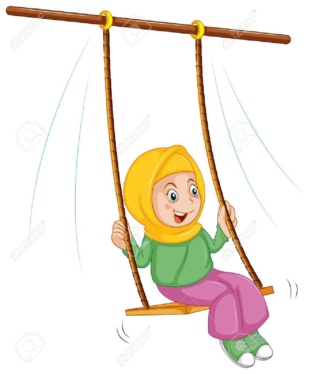 1081x1300 Swing Clipart Rope Swing