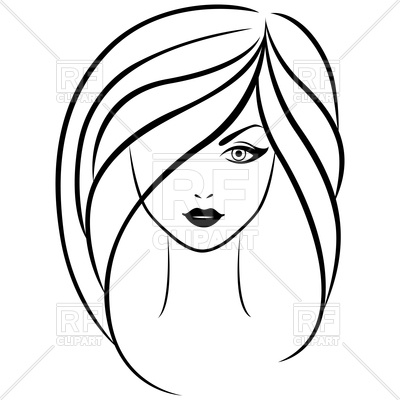 girl outline clipart  free download on clipartmag