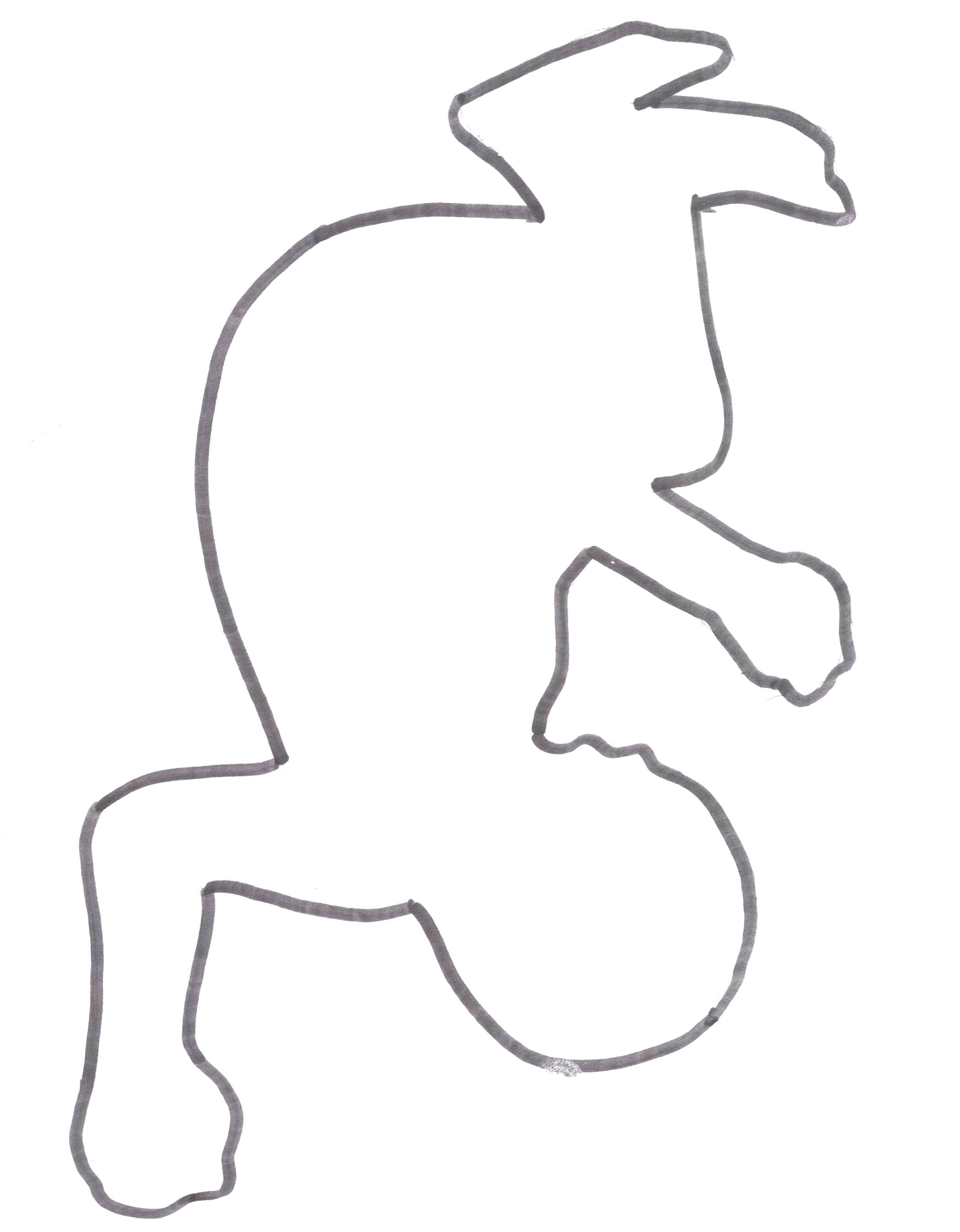 2100x2695 Dead Body Outline Drawing Girl Reactions To Emotions Template