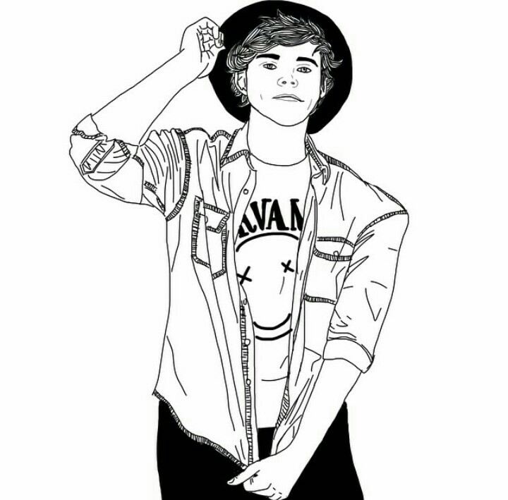 720x709 Sweet Inspiration Boy Outline Tumblr Boys Picture Clip Art