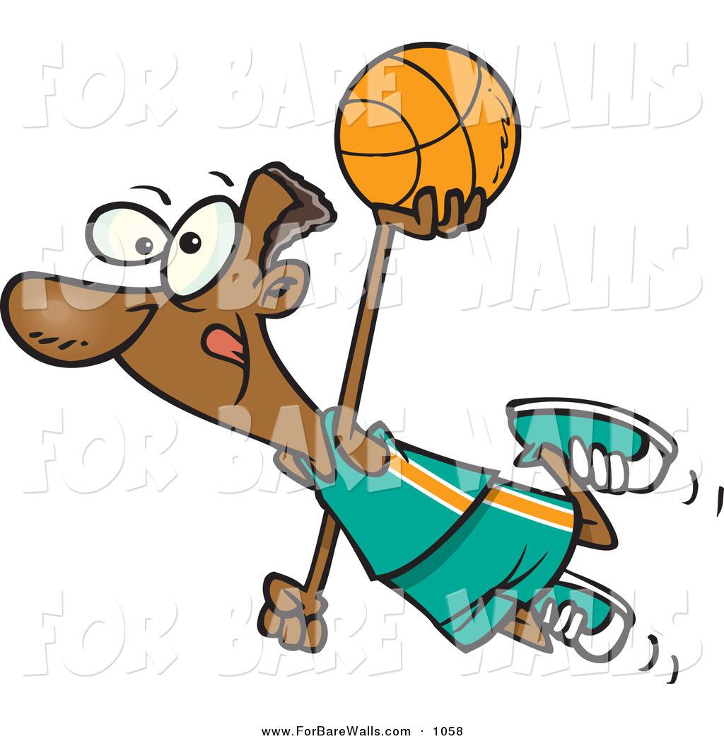 1024x1044 Cartoon Basketball Player Clipart