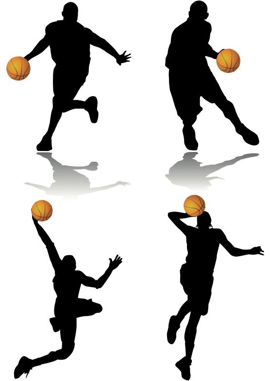 556x785 Free Basketball Player Clipart