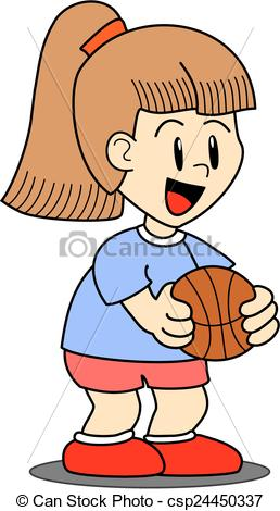 258x470 Girl Holding Basketball Clipart Amp Girl Holding Basketball Clip Art