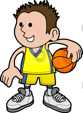 333x450 And Girl Playing Basketball Clipart