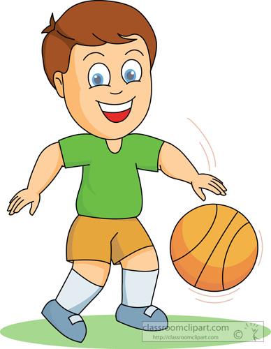 388x500 Basketball Clipart Boy And Girl