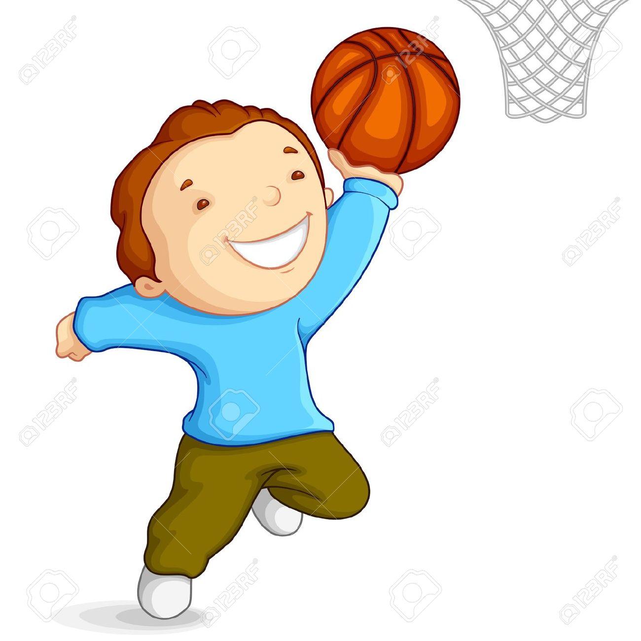 1300x1300 Boy Clipart Play Basketball