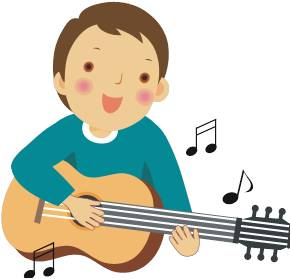 291x279 Clipart Guitar Player