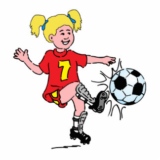 324x324 Clipart Soccer Player Girl