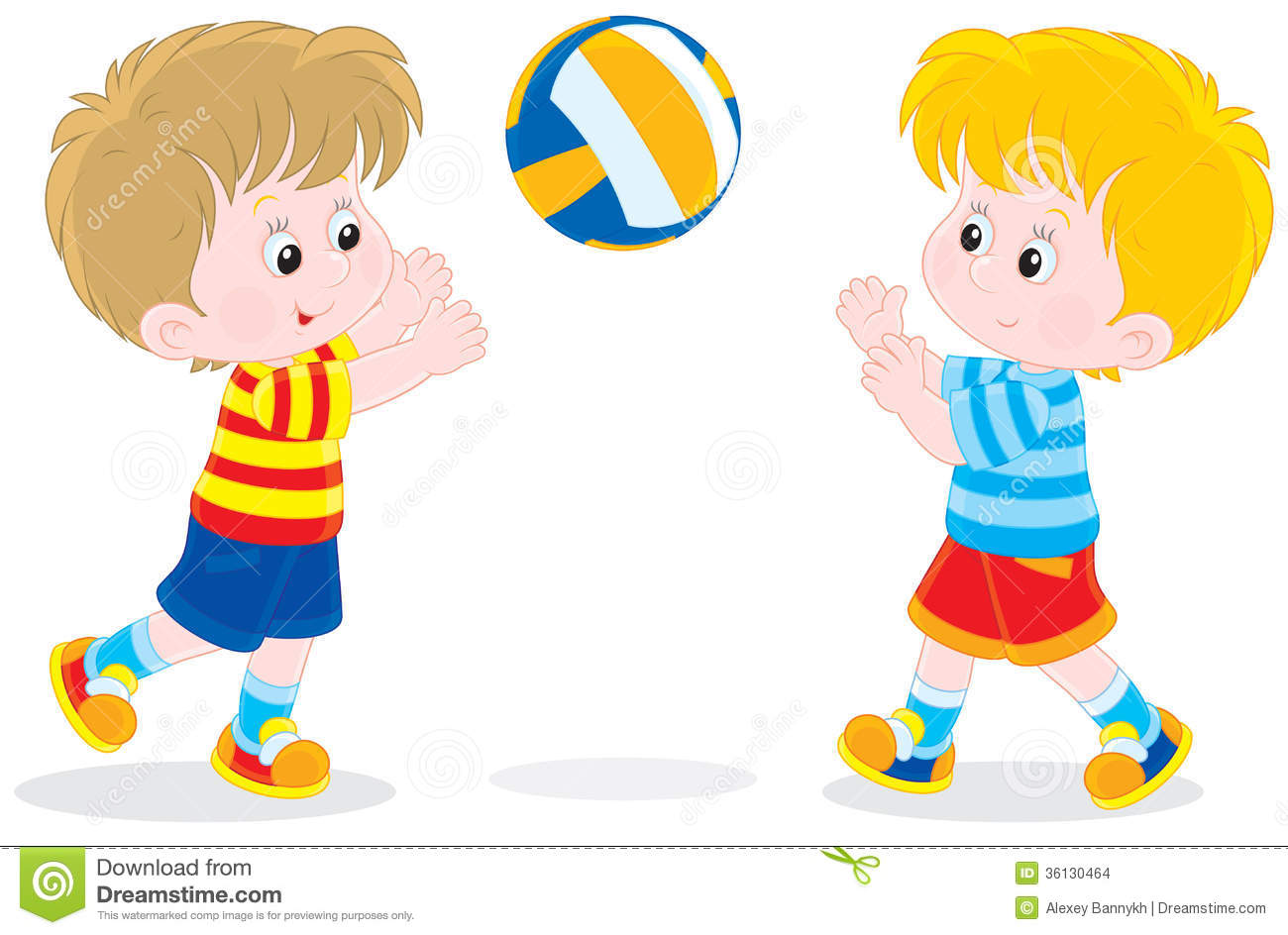 1300x944 Child Clipart Volleyball
