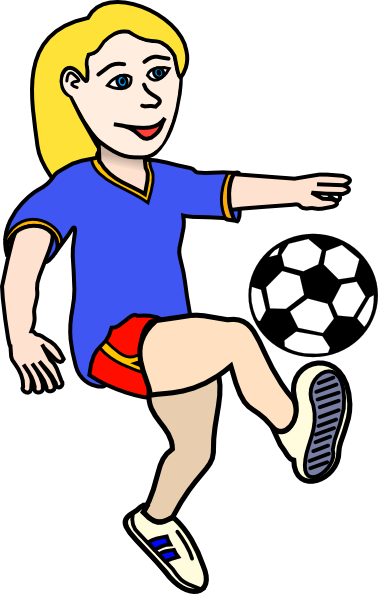 378x594 Girls Volleyball Clipart