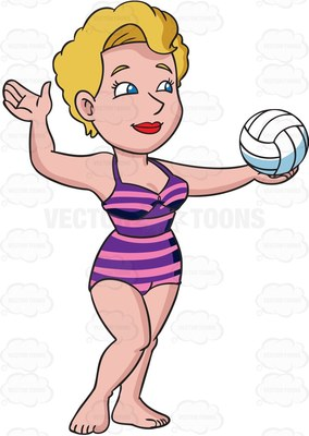 284x400 Bathing Suit Volleyball Clipart, Explore Pictures