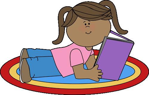 500x319 Girl Reading Clip Art