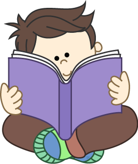 282x335 Reading Book Clipart