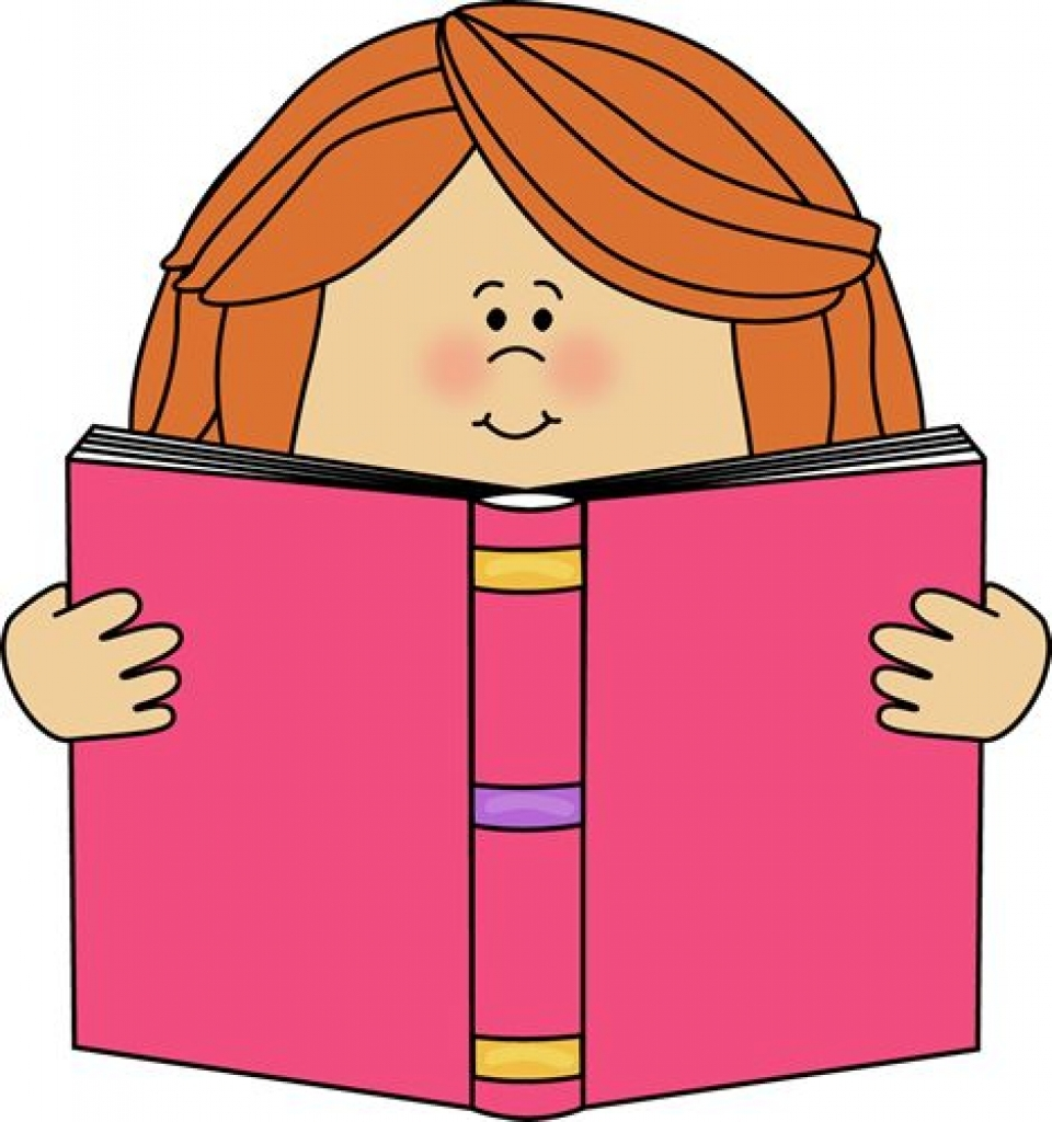 960x1024 Girl Reading Clip Art Girl Reading A Book Clip Art Image Girl