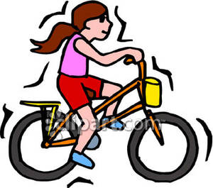 300x265 Girl Bicycle Clip Art 2015 Images