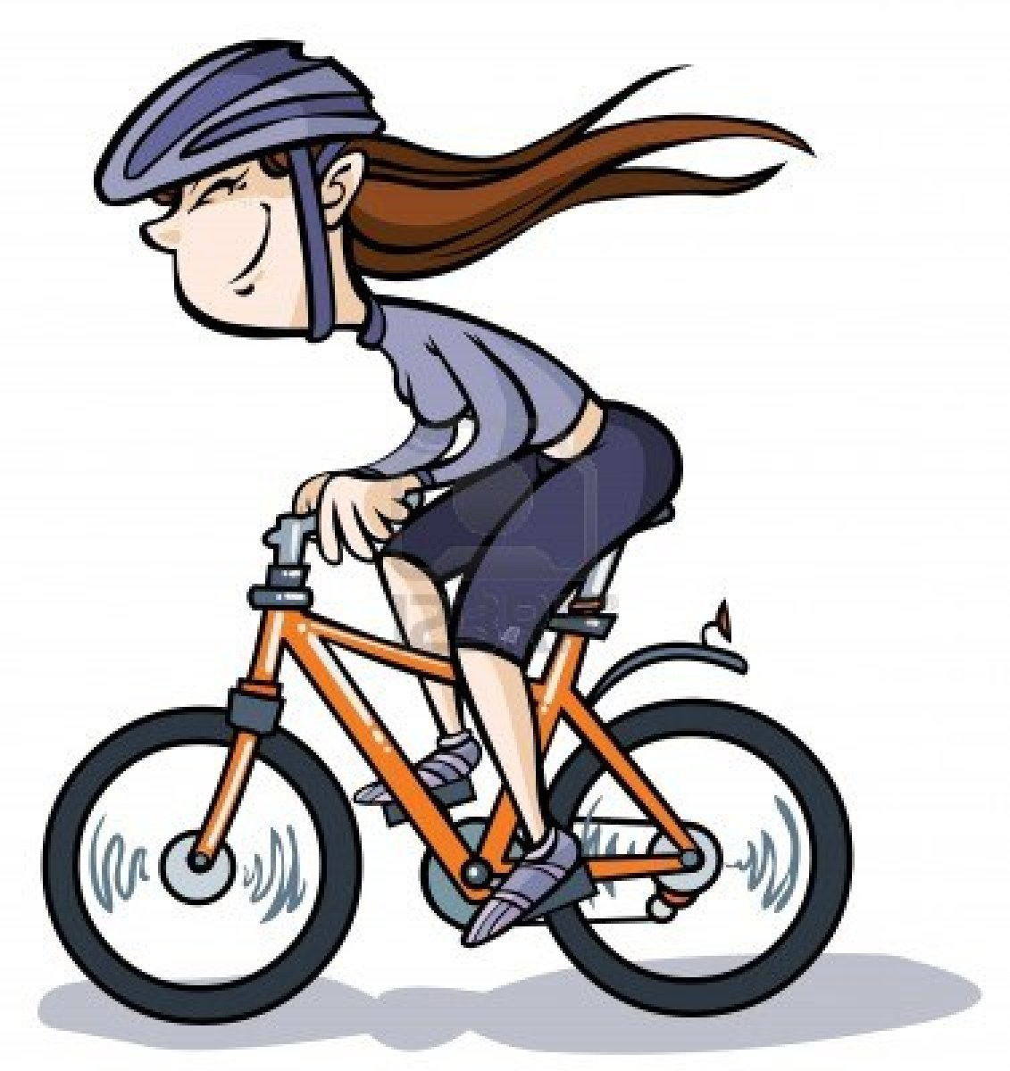 1131x1200 Girl Riding Bike Clipart