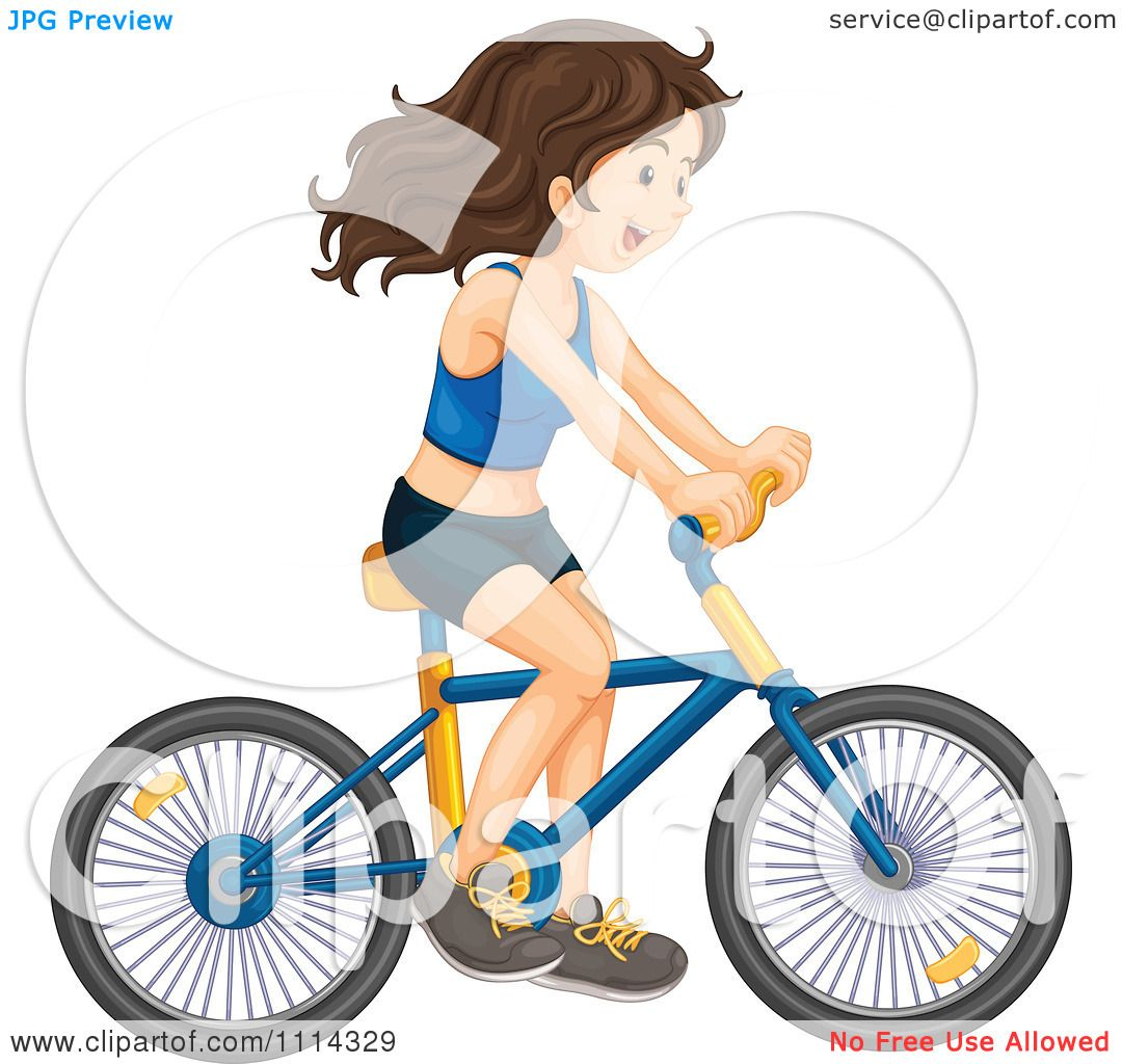 1080x1024 Girl Riding A Bike Clipart, Free Girl Riding A Bike Clipart