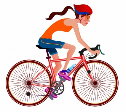 425x377 Women,cycle,vector,sports Race,cycling,sport,bicycle,teenage Girls