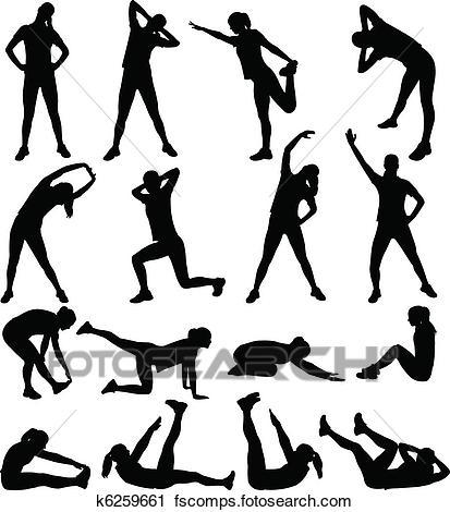 413x470 Clipart Of Athletic Girl Running K9190852