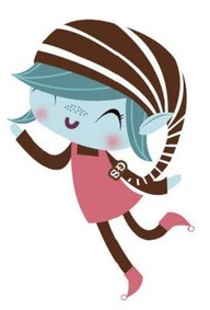 192x283 Girl Scout Brownie Elf Clip Art