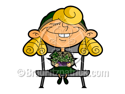 432x324 Cartoon Girl Scout Clipart Picture Royalty Free Girl Scouts Clip