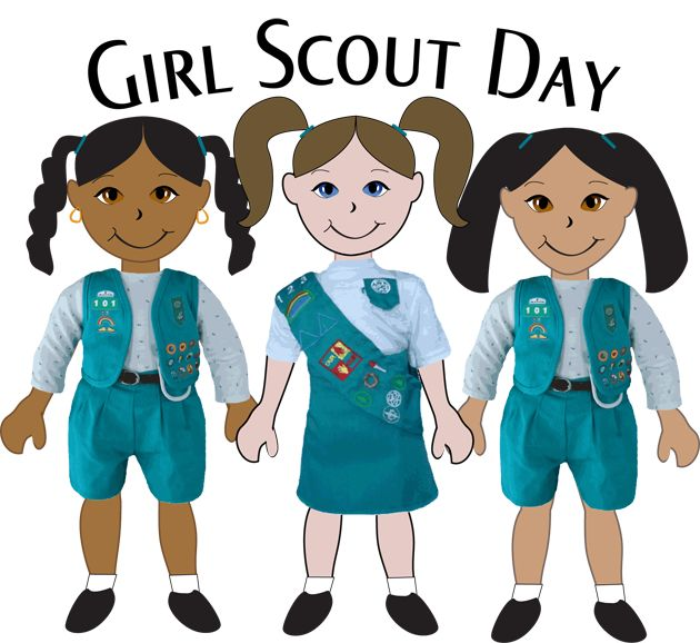 630x578 Girl Scouts Of The World Clipart