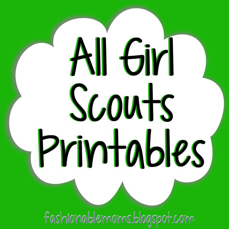 736x736 Brownie Clipart Scout 2640370