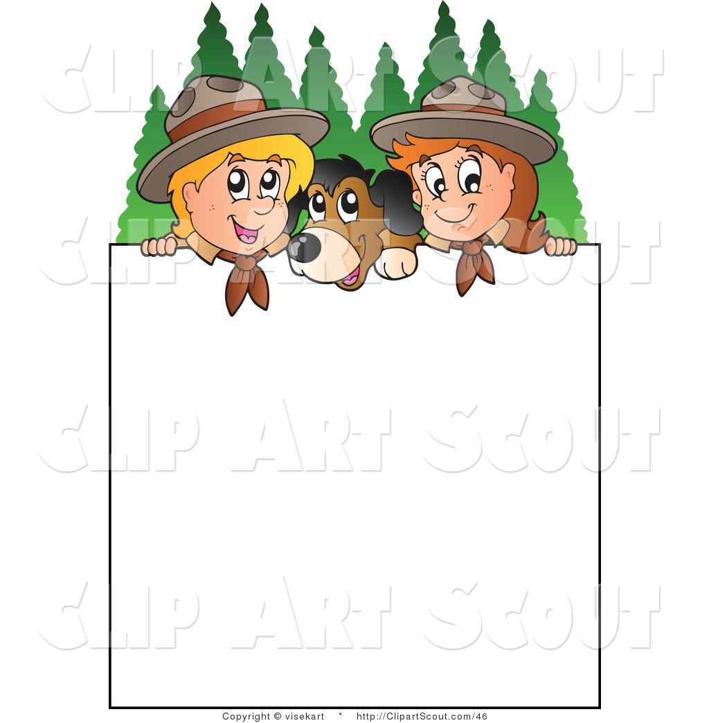 1024x1044 Girl Scout Border Clip Art