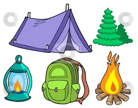 450x354 Scout Camping Clipart