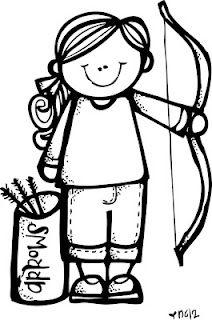 212x320 Girl Guide Clip Art